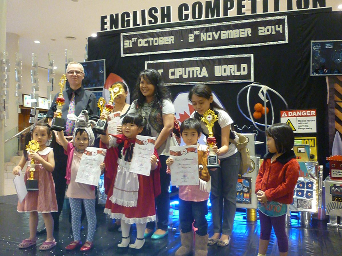 CEC's Eighth Annual English Competition